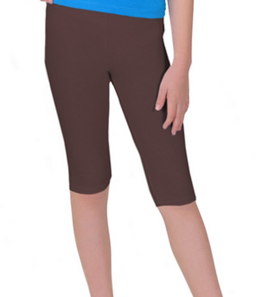 LC Boutique Girls Cotton Spandex Capri Pants in Sizes 6 to 12