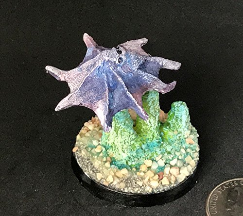 Painted lead Giant Octopus miniature (mini) for Dungeons and Dragons D&D (RPG)