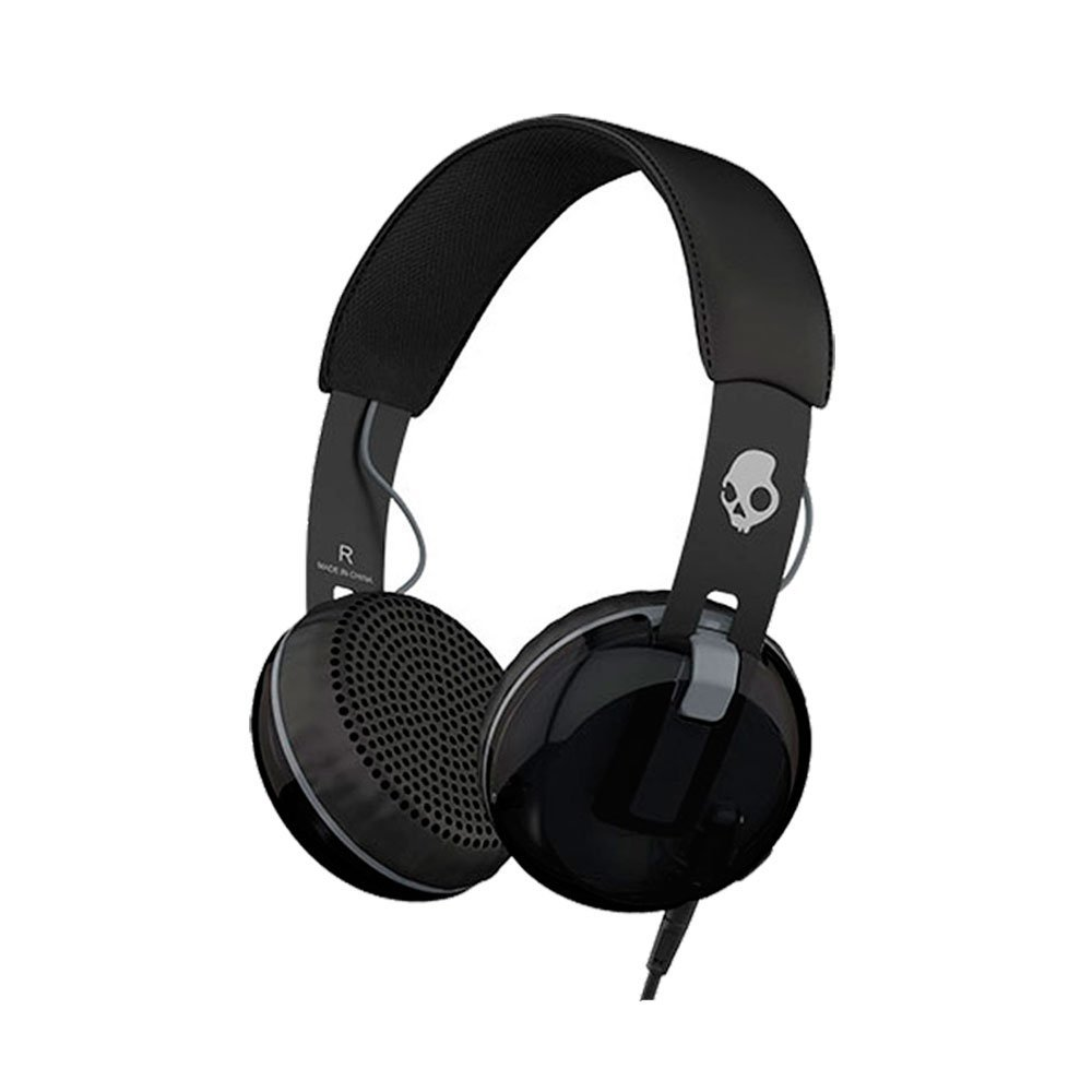 Amazon.com  Skullcandy Grind On-Ear Headphones with Built-in Mic ... 5572b8c990