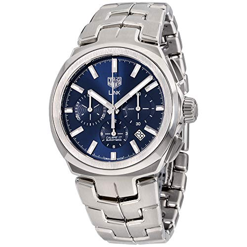 Tag Heuer Link Blue Dial Stainless Steel Men's Watch CBC2112.BA0603