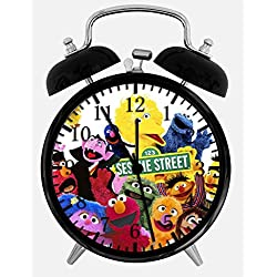 Sesame Street Elmo Alarm Clock W64 Nice for Gifts or Decor