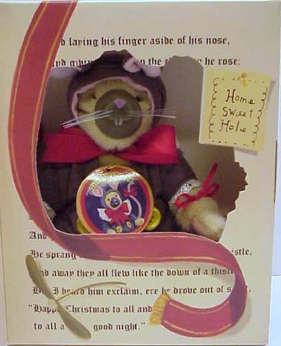 North American Bear Muffy Vanderbear Mouse Holiday Limited Edition