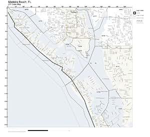 Madeira Beach Fl Zip Code Map