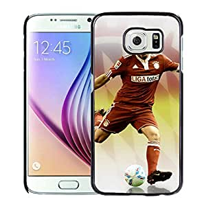 Unique and Grace Case Frank Ribery 3 Samsung Galaxy S6 Phone Case in Black