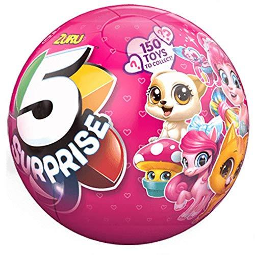 (ZURU 5 Surprise Miniature Toy Mystery Ball)