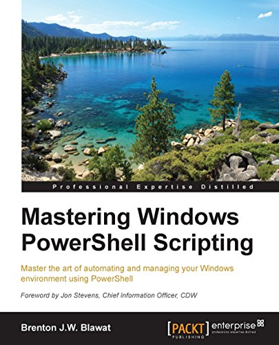 Mastering Windows PowerShell Scripting Pdf