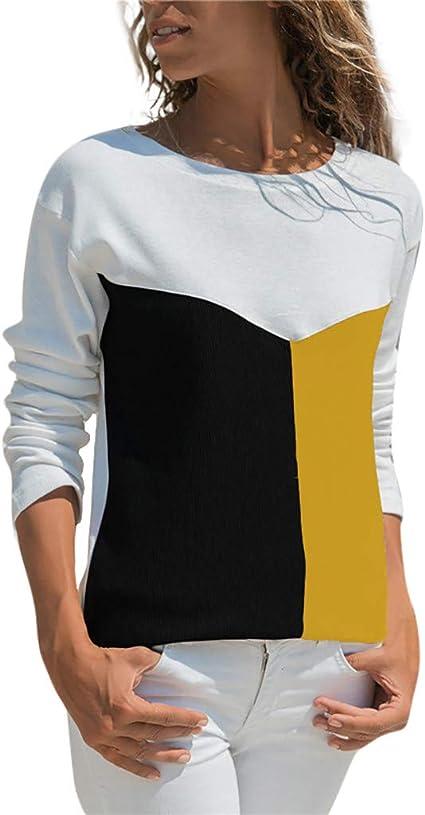 Camisetas Mujer Manga Larga Originales Ronamick Flores Lace Blusa Blanca Tops Mujer Verano Flores Lace Camisa Cuadros Hombre (Amarillo,XXXL): Amazon.es: Bricolaje y herramientas