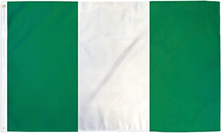 3x5 Nigeria Flag Nigerian National Banner Polyester 3x5 Foot Country Flags