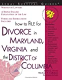 How to File for Divorce in Maryland, Virginia, and the District of Columbia, James J. Gross and Michael F. Callahan, 1572482400