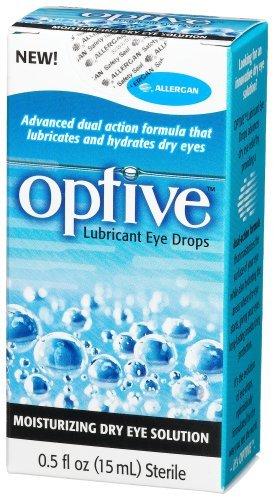 Refresh Optive Lubricant Eye Drops 0.5 fl oz (15 ml) Each