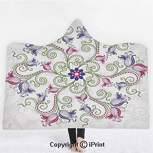 Mandala 3D Print Soft Hooded Blanket Boys Girls Premium for sale  Delivered anywhere in Canada
