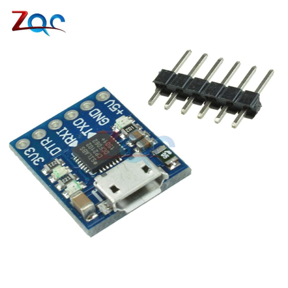 CP2102 Micro USB To TTL Module UART Convert STC Downloader f Arduino ATMEGA328P