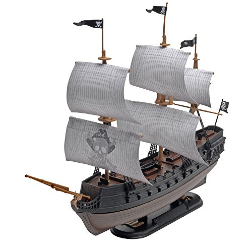 Revell SnapTite The Black Diamond Pirate Ship Model Kit (Models Pirate Ship)