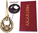 "Hand of the King Beer Bottle Opener With Magnet & Gift Box – Fan Merchandise, 3in1 Fridge Magnet, Letter & Bottle Opener – Perfect Christmas Present For ""Game of Thrones"" Fans"