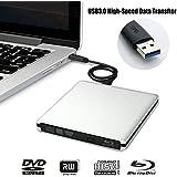 LeaningTech ブルーレイドライブ 外付け USB3.0 DVD Windows Mac 読取り 書込み可能
