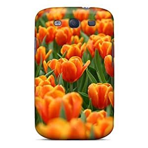 For Galaxy Case, High Quality Flowers For Galaxy S3 Cover Cases