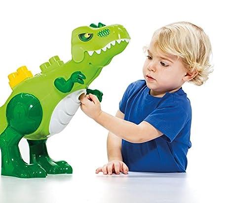 MOLTO Blocks Dinosaurio con Sonidos Miscelanea 17480: Amazon.es: Juguetes y juegos
