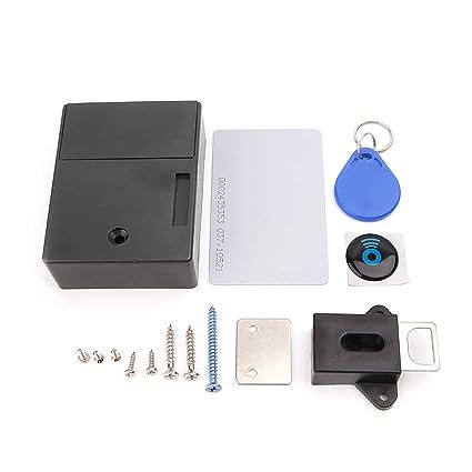 CADANIA Invisible RFID Gabinete electrónico Cerradura ...