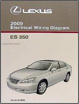 [DIAGRAM_5FD]  2009 Lexus ES 350 Wiring Diagram Manual Original: Lexus: Amazon.com: Books | Lexus Is 350 Wiring Diagram |  | Amazon.com