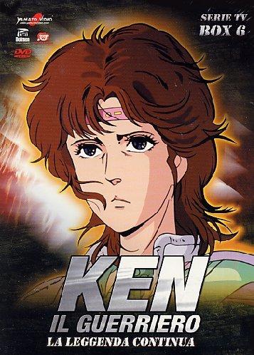 131 Ken - Ken Il Guerriero - Serie Tv Box 06 (Eps 131-152) (5 Dvd) [Italian Edition]