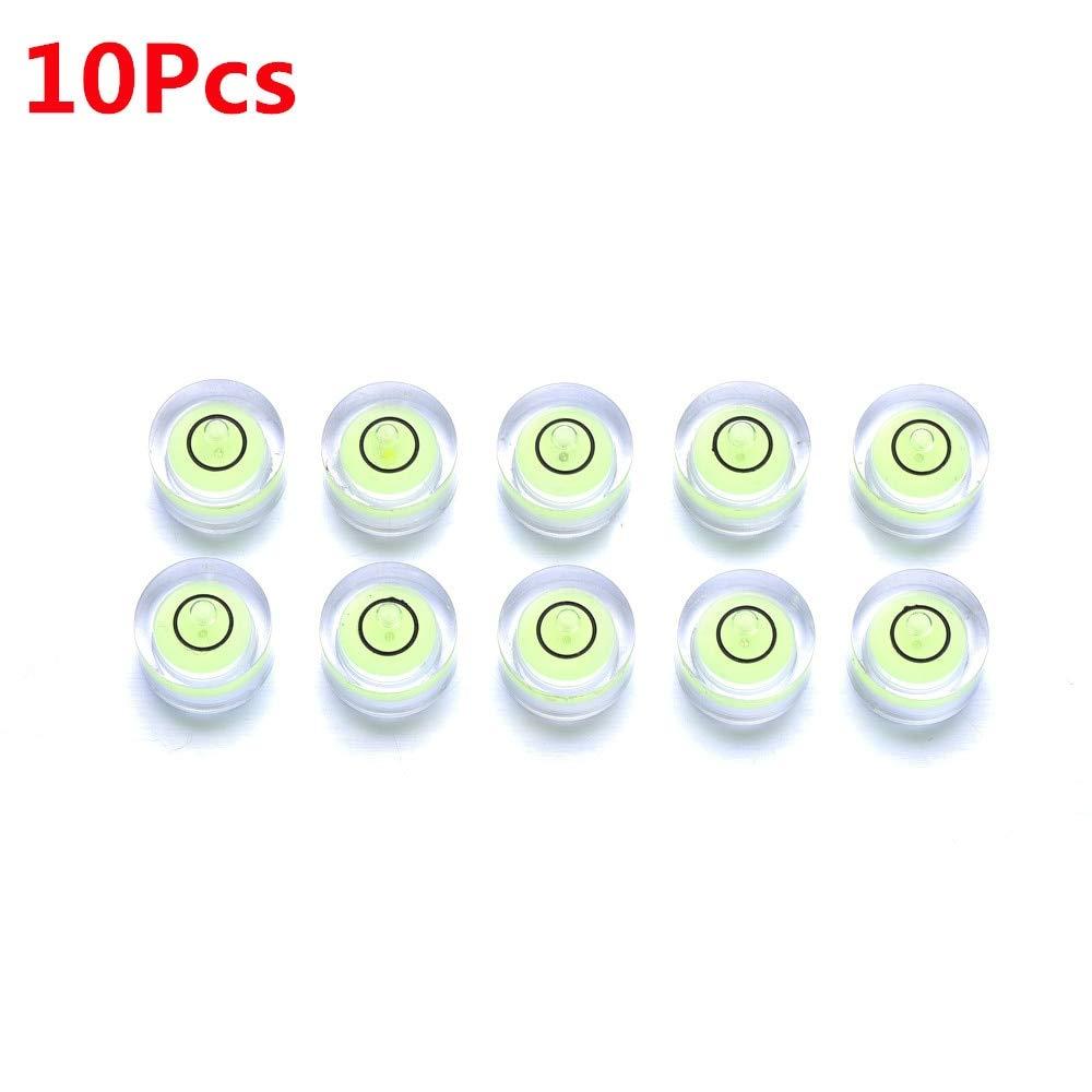 10X burbuja nivel grado marca, mini circular Bullseye nivel ...
