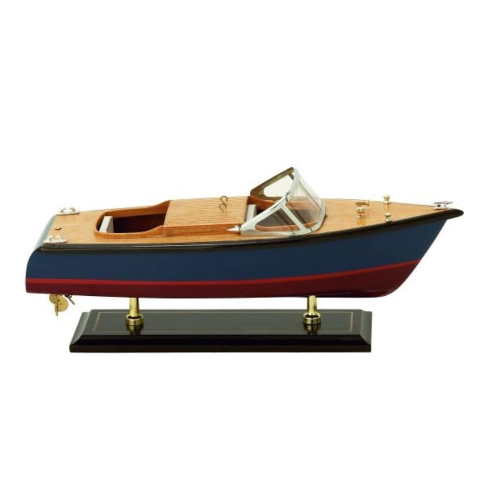 Benzara 71646 Wood Yacht, 13''W x 5''H by Benzara (Image #1)