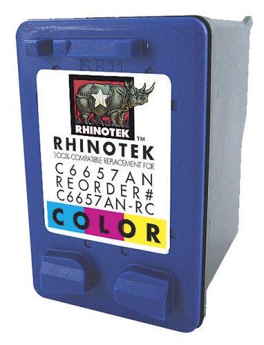 Rhinotek Compatible for HP Deskjet 450CBI, C6657AN Color Ink 1pk (C6657AN-RC) ()