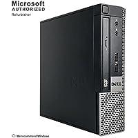 2018 DELL OPTIPLEX 790 USFF Desktop Computer, Intel Core I7-2600s 2.8GHz up to 3.8GHz, 8GB DDR3, 120GB SSD, DVD, WIFI, HDMI, VGA, Display Port, Bluetooth 4.0, Win 10 Pro 64 Bit (Certified Refurbished)