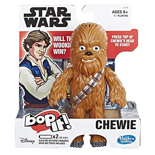 Hasbro Gaming Bop It! Electronic Game Star Wars Chewie Edition for Kids Ages 8 & Up