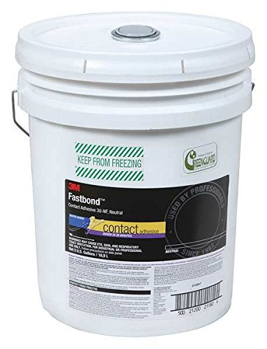 3M Fastbond Contact Adhesive 30NF Neutral, (4 Gallons)