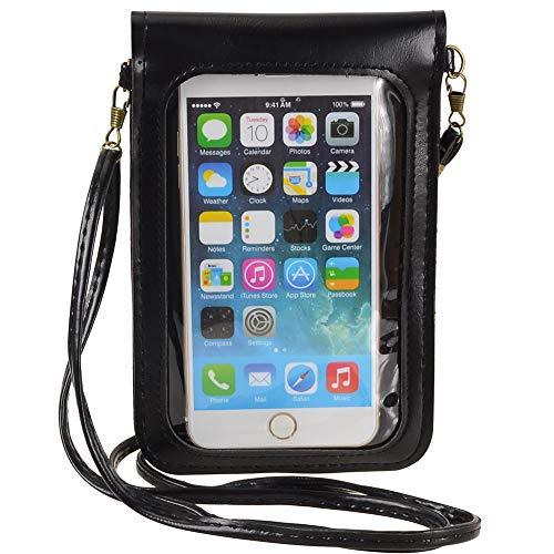 Touch Screen Phone Crossbody Shoulder Bag Purse Clucth Handbag Wallet Wristlet