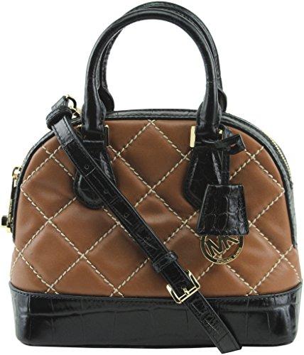 michael kors black quilted bag - 8
