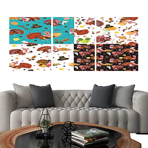 Frameless Paintings 3 Pieces Painting CollectionHarvest set