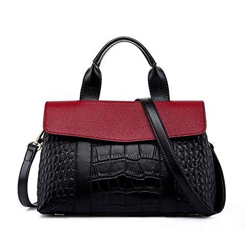 Rouge à Gift Satchel Femmes femmes Casual Top pour Couleur bandoulière Jxth Marron Sac qBZ61qw