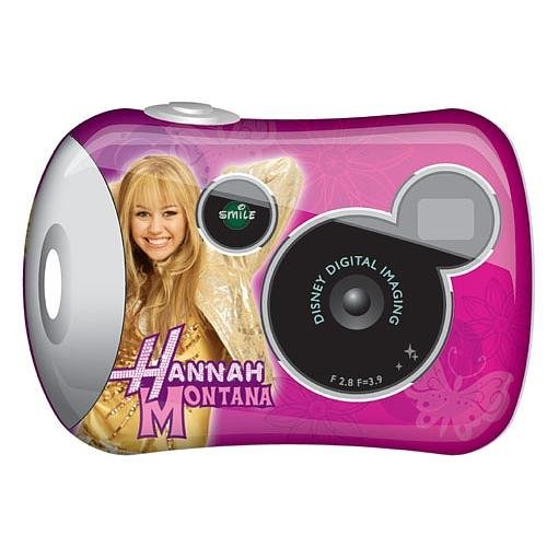 Disney Pix Micro Digital Camera 2.0 - Hannah Montana - Hannah Montana Stamp