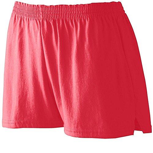 Augusta Heavyweight Jersey - Augusta Sportswear Women's Junior FIT Jersey Short XS Red