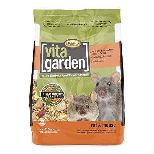 Higgins Vita Garden Rat & Mouse Food, 2.5 Lbs., - Vita Rat