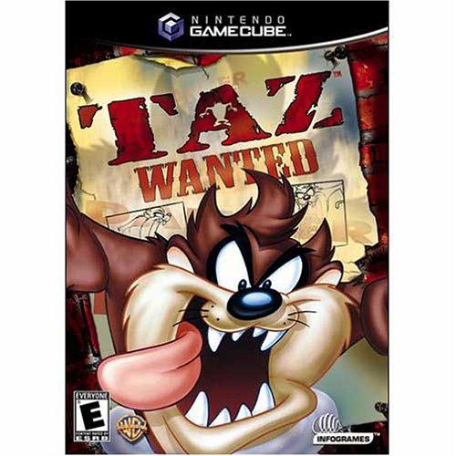 Taz Wanted GameCube
