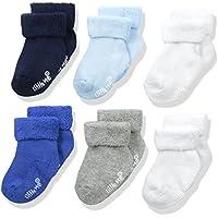 Little Me Baby Boys' 6 Pack Socks