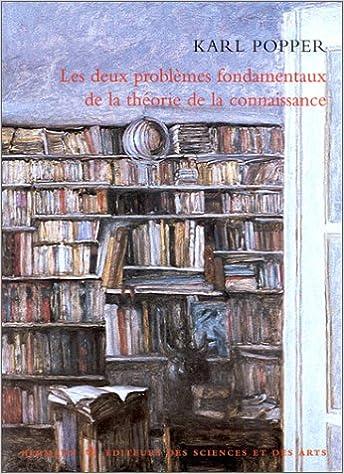 Téléchargement Les Deux Problèmes fondamentaux de la théorie de la connaissance epub, pdf