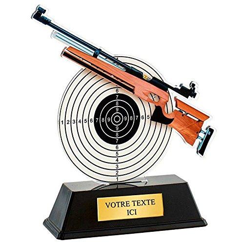 TROPHEE TIR AU FUSIL EN ACRYLIQUE COULEUR Trophée Sportif