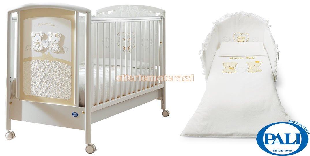 Infanzia E Premaman Set Tessile Pali In Coordinato Sincere Lettino Pali Maison Bebè Bianco