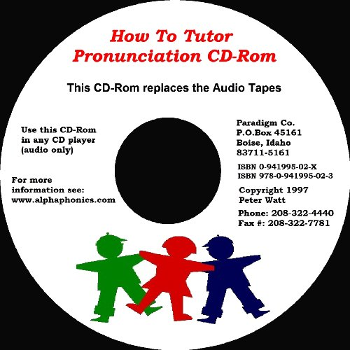 How To Tutor Pronunciation CD ROM