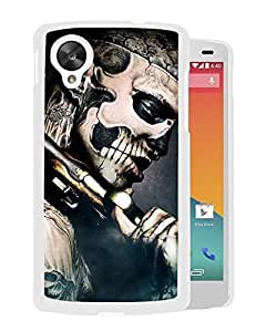 New Beautiful Custom Designed Cover Case For Google Nexus 5 With Skeleton Boy (2) Phone Case