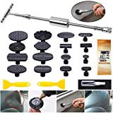 Manelord Auto Body Dent Repair Tool - T bar Dent Puller with Slide Hammer for Car Body Hail Dent Removal Paintless Dent Repair and Automobile Body Dent Removal