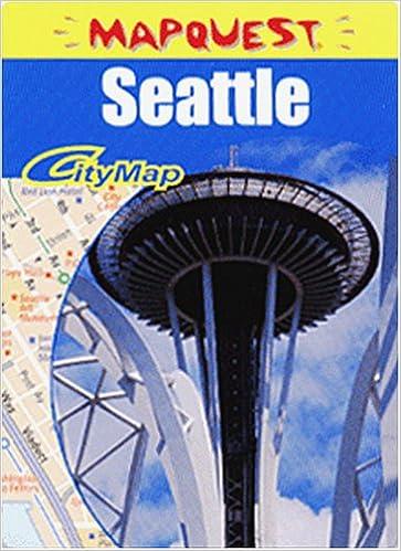 Seattle Wa Z Map American Map Corporation 0027793625043 Amazon