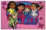 Dora the Explorer Best Friends 39'x58' Area Rug