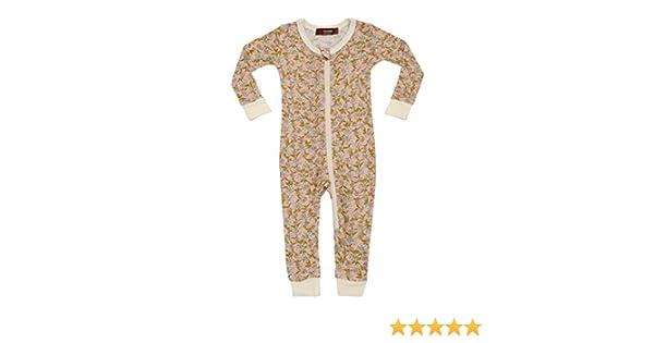 Amazon.com  MilkBarn Bamboo Zip Pajamas - Rose Floral  Clothing ab697e9d0