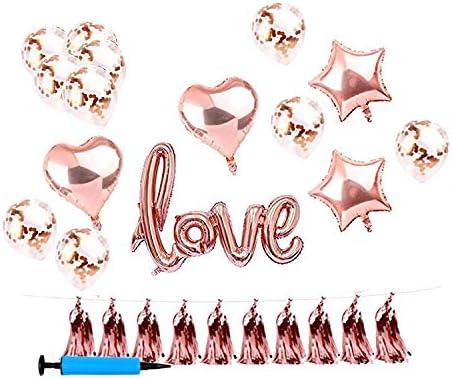 ViViKaya 結婚式風船、誕生日お祝い風船、イベント記念風船