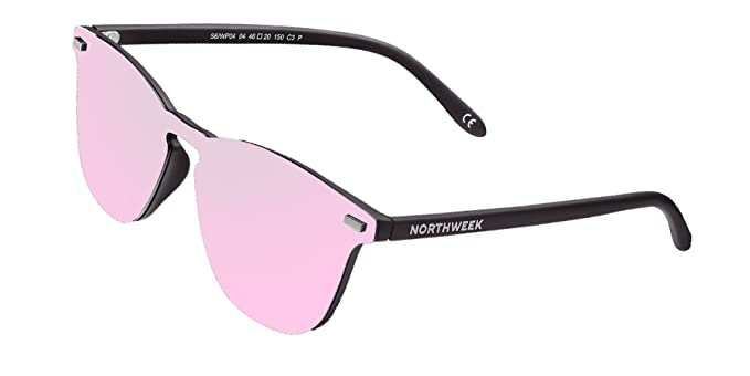 NORTHWEEK Gafas de sol Wall Phantom Pipe - lente rose: Amazon.es: Ropa y accesorios